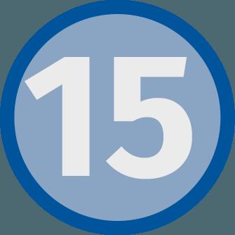 15 Calories/tsp
